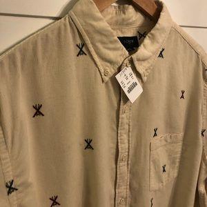 Brand new men's J. Crew button down shirt!